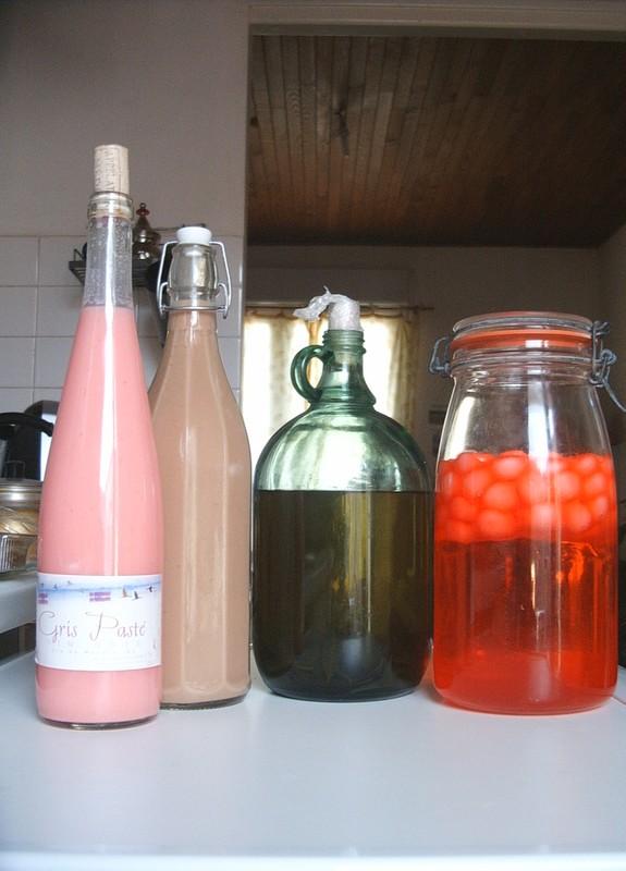 Liqueur rhum et fraise tagada