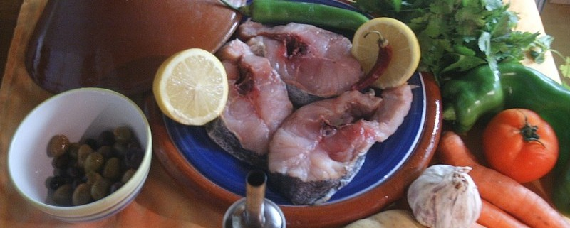 Recette de tajine de poisson