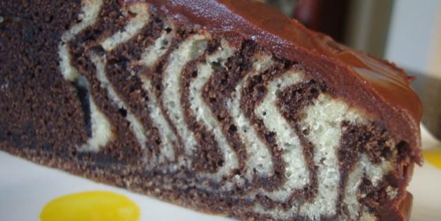Recette du marbré italien ou gâteau zébré