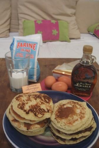recette des pancakes maison