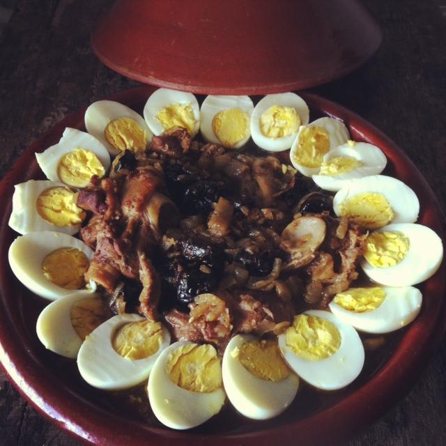 Tajine aux pruneaux en auto-cuiseur