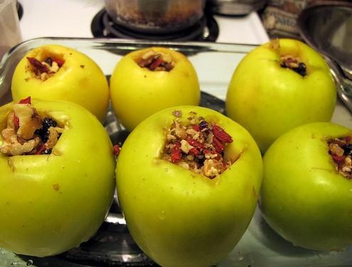 Recette des pommes au four