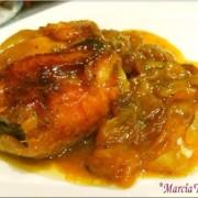 recette de poulet aux mirabelles