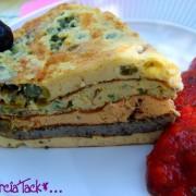 recette du crespeou, le gateau d'omelette que l'on mange froid en Provence