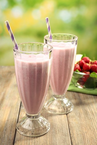 Milk shake à la figue