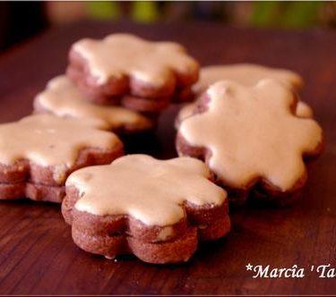 recette de biscuit au chocolat et au café