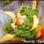 Salade de noix de saint jacques
