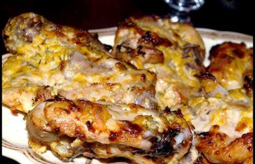 Poulet mariné au thym et citron parfait pour les barbecues ou cuit au four