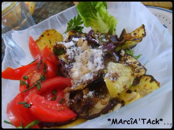 Salade Riviera au vinaigre balsamique, ça sent bon la provence
