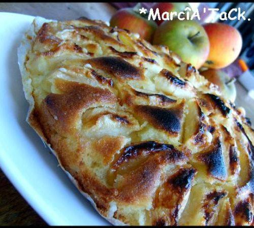 Recette gâteau aux pommes façon grand mere