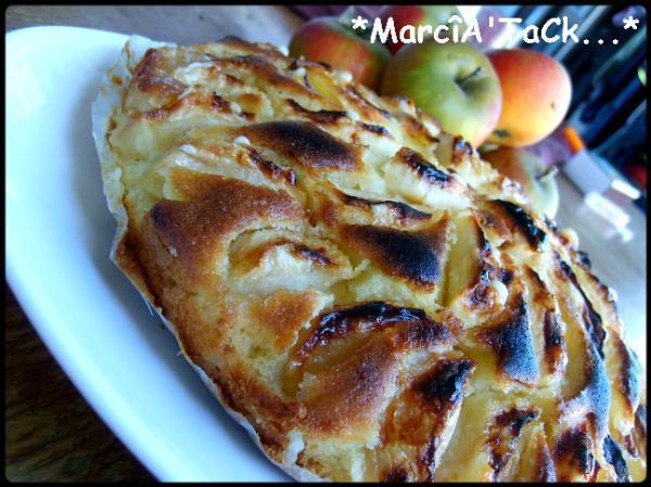 Gâteau aux pommes façon grand-mère