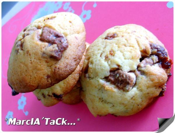 Recette de biscuits aux bonbons Daim