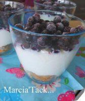 Recette du trifle à la myrtille