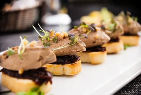 recette de toast de foie gras