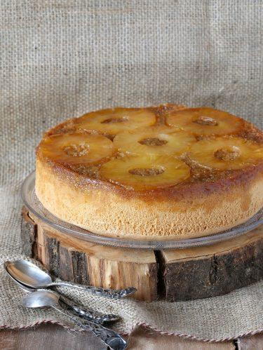 recette de gâteau à l'ananas