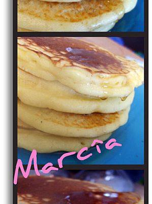 Recette de pancakes au lait fermenté