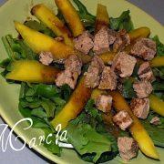 recette salade mangue foie gras