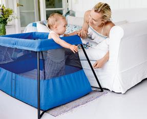 Un lit parapluie ultra-compact