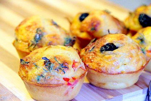 Recette muffin pizza