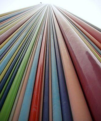 hauteur couleur contre plongée