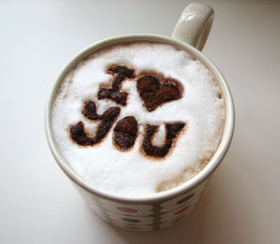 Latte love cafe love you