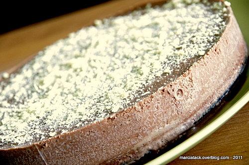 Le choco-délice, un gâteau au chocolat tout love