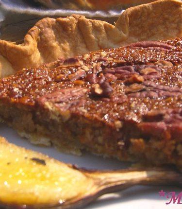 recette de tarte à la noix de pecan