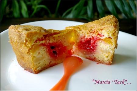 Gâteau Lyonnais aux pralines rouges
