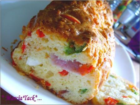 Cake Olive Chevre Thon