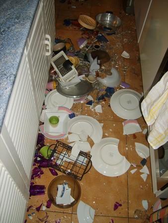 La malédiction de la recette interdite : tempête dans mon vaisselier!!!!