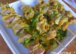 Recette de brochettes de poulet à la marocaine