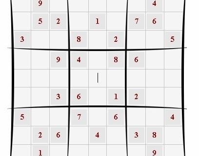 grille sudoku