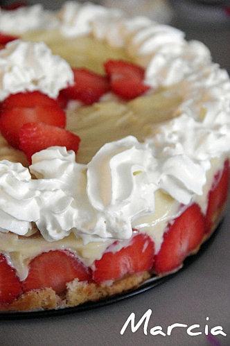 fraisier recette facile