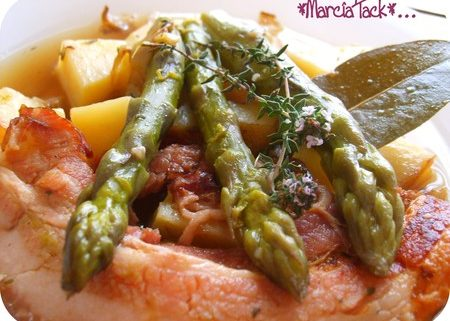 Recette du fricot d'asperges, la fricassée provençale