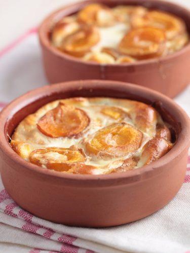 recette du clafoutis aux abricots
