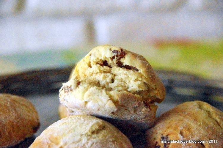 recette, scones, raisin sec, petit pain, anglais, cuisine, marcia tack
