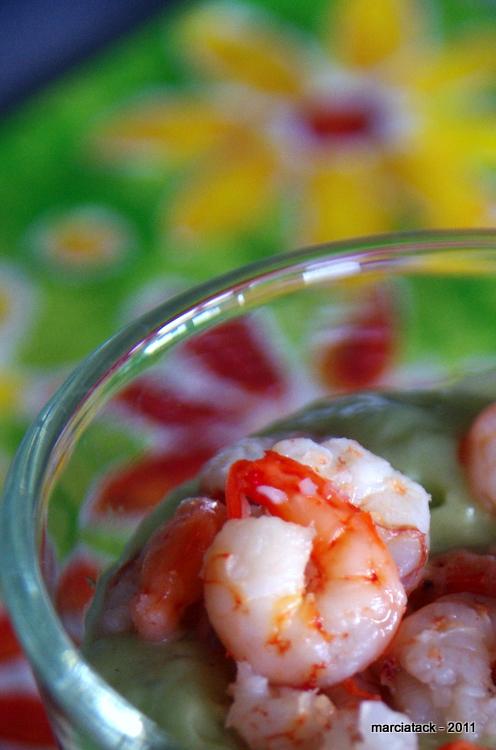 recette+avocat+soupe+froide+cumin+crevettes+blog+cuisine+marcia