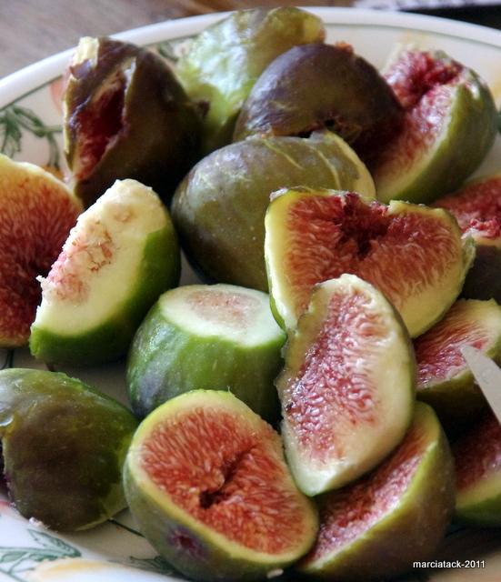 recette de glace à la figue et miel de lavande