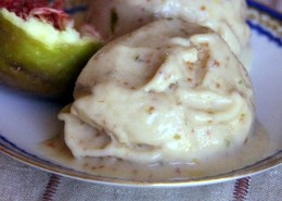 recette glace à la figue et miel de lavande