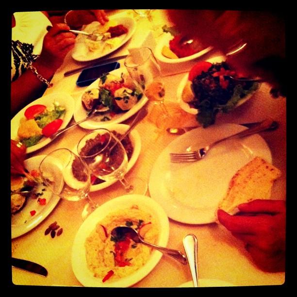 Mezzés à la Table Libanaise