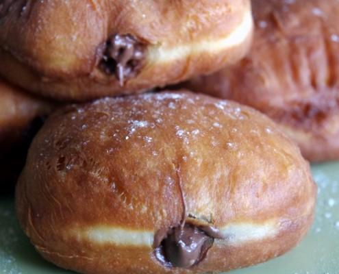 Recette de beignets fourrés au Nutella