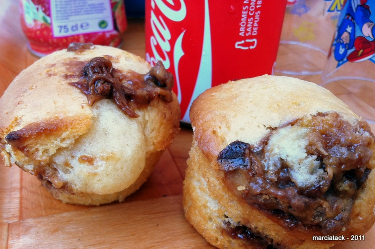 Muffins au milkyway