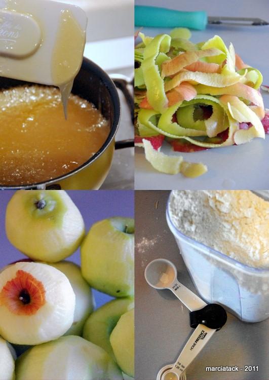 recette Apple pie Grandma's Ople