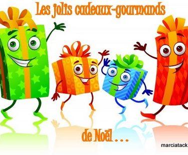 swap noel Les jolis cadeaux gourmands Marcia Tack jeu noël noel