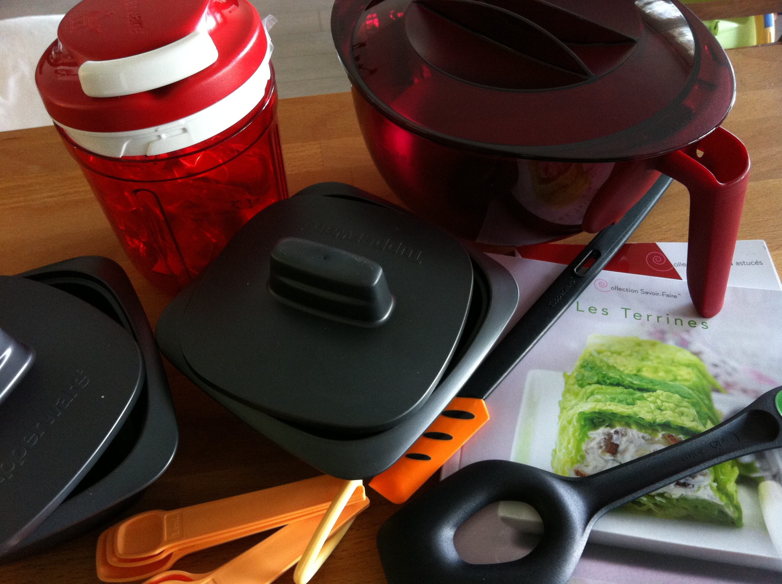 Kit tupperware concours 50ans
