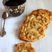 Recette cookies à la pâte d'amande et pignons sans farine