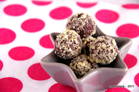 truffes+chocolat +carambar+sucre +pétillant