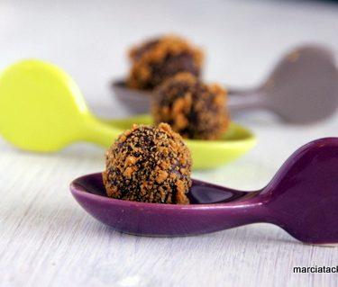 recette de truffes chocolat spéculoos