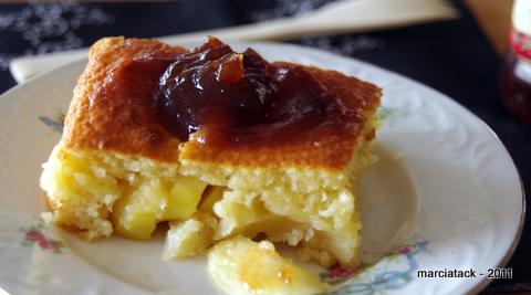 recette gateau aux pommes fondant