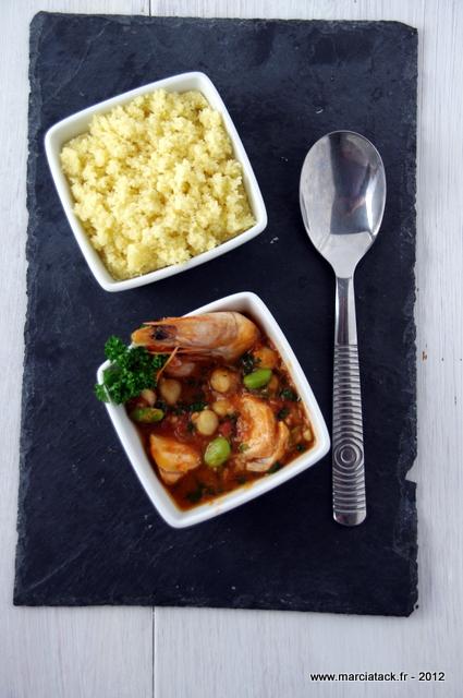 couscous de poissons, une recette facile et bluffante